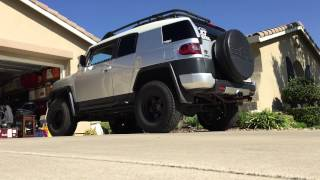 FJ Cruiser exhaust - long tube headers, y pipe