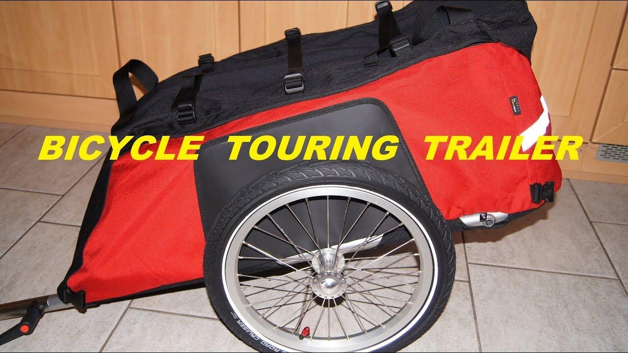 Bicycle Touring Trailer ( Radical Design Cyclone IV )