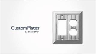 Custom Wall Plates From Brainerd - Configure To Fit Your Needs!