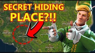 FORTNITE SHIFTY SHAFTS GLITCH (SECRET HIDING PLACE )