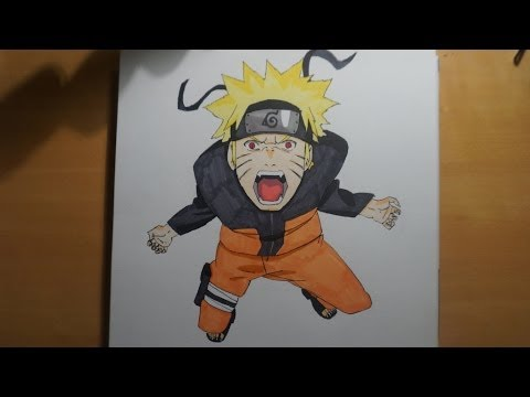 Dessin de naruto drawing naruto youtube - Dessin de naruto facile ...
