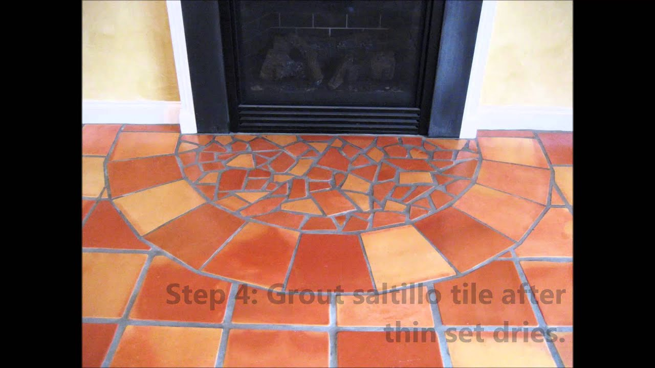install saltillo terra cotta and spanish tile - youtube