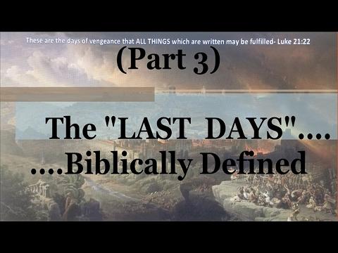 #3) Genesis 49 & Numbers 24 (The Last Days....Biblically Defined Series)