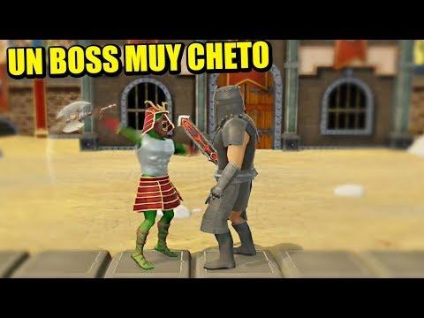 VICIO V Vs 3º BOSS - WARRIORS RISE TO GLORY   Gameplay Español