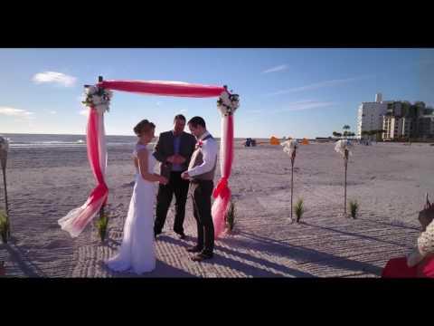 Stephanie + Brandon = A Upham Beach Park Wedding