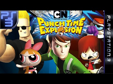 Longplay of Cartoon Network: Punch Time Explosion XL