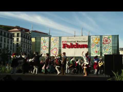 Grupo Folclórico Infanto-Juvenil de S. Miguel da Carreira no XVII Festival Nacional do Besclore-2016
