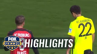 Video Gol Pertandingan Freiburg vs FC Augsburg