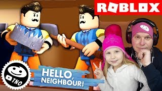 HELLO NEIGHBOR in Roblox we reveal the secrets in Act 2 | Daddy and Dharmendra | Roblox CZ/SK