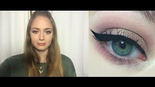 Зимний макияж / нежный макияж: видео-урок
