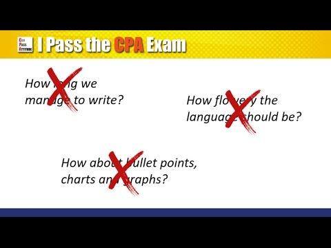 CPA Exam Essay Tips