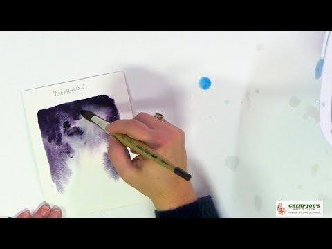 Cheap Joe's 2 Minute Art Tips – New American Journey Watercolors