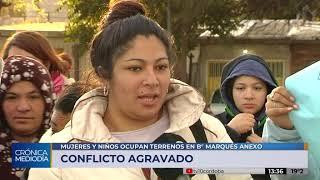 Casi 50 familias ocupan un terreno en Marqués Anexo