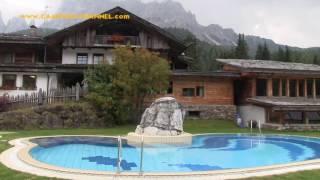 Caravanpark Sexten in Südtirol Italien Oktober 2016
