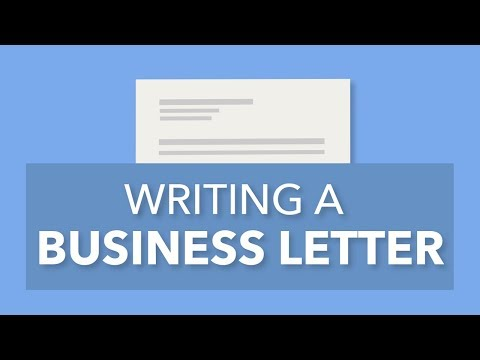 business email writing video