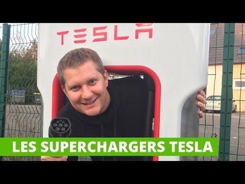 Les Superchargers Tesla : la recharge ultra-rapide