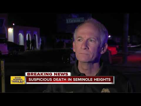 Tampa Police confirm suspicious death in Seminole Heights blocks away from recent murders