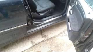 Mercedes w203 seat problem
