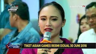 Download Video Tiket Asian Games Resmi Dijual 30 Juni 2018 MP3 3GP MP4