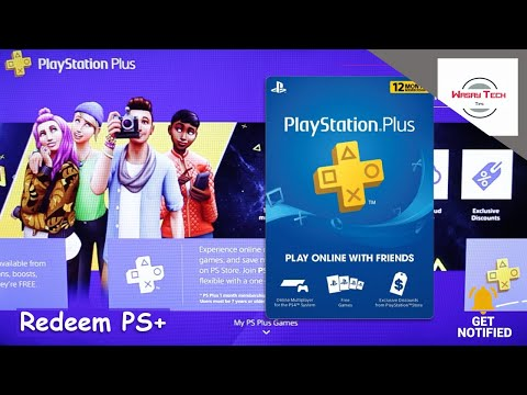 How To Redeem PS Plus Membership On The PS4