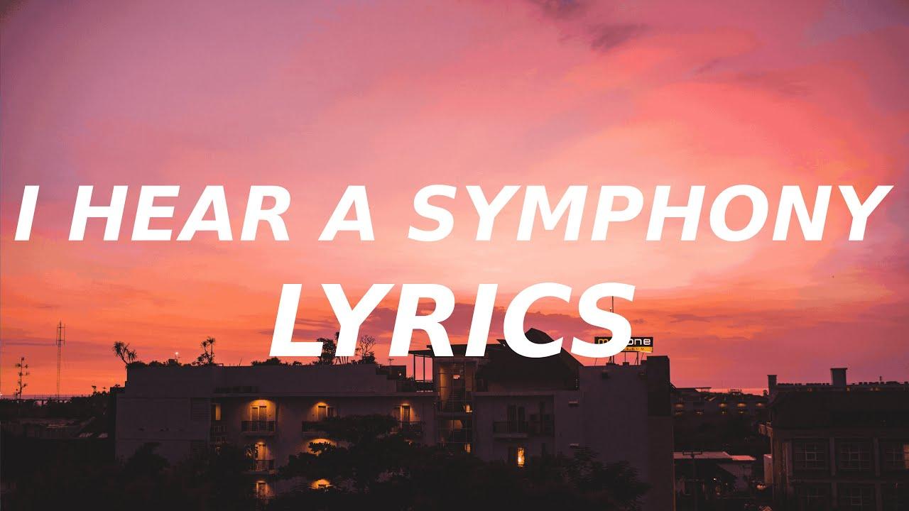 Download Cody fry - I Hear a Symphony (Lyrics) i used to hear a simple song