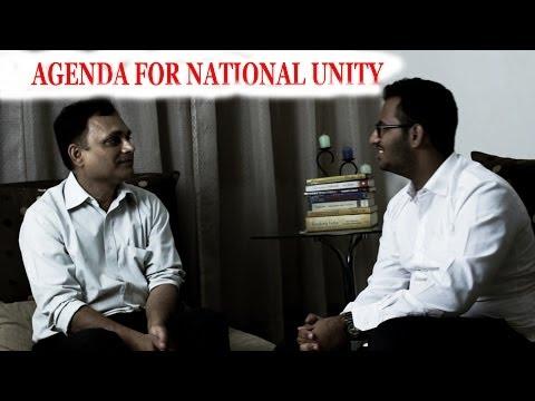 Anil Kumar Vajpayee -interview- Agenda for national unity