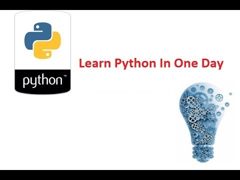 learn python in one day pdf