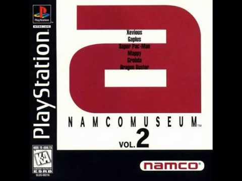 Namco Museum Vol. 2 - Xevious Game Room Theme