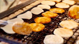 Japanese Rice Cracker ,SENBEI Making ASMR