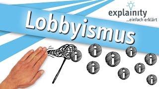 Lobbyismus einfach erklärt (explainity® Erklärvideo)