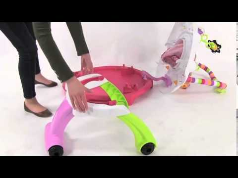 Kolcraft Baby Sit & Step® 2-in-1 Activity Center