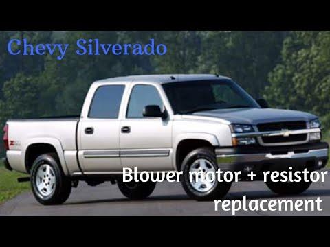 99 00 01 02 03 04 05 06 07 CHEVY SILVERADO SIERRA PICK UP TRUCK BLOWER RESISTOR