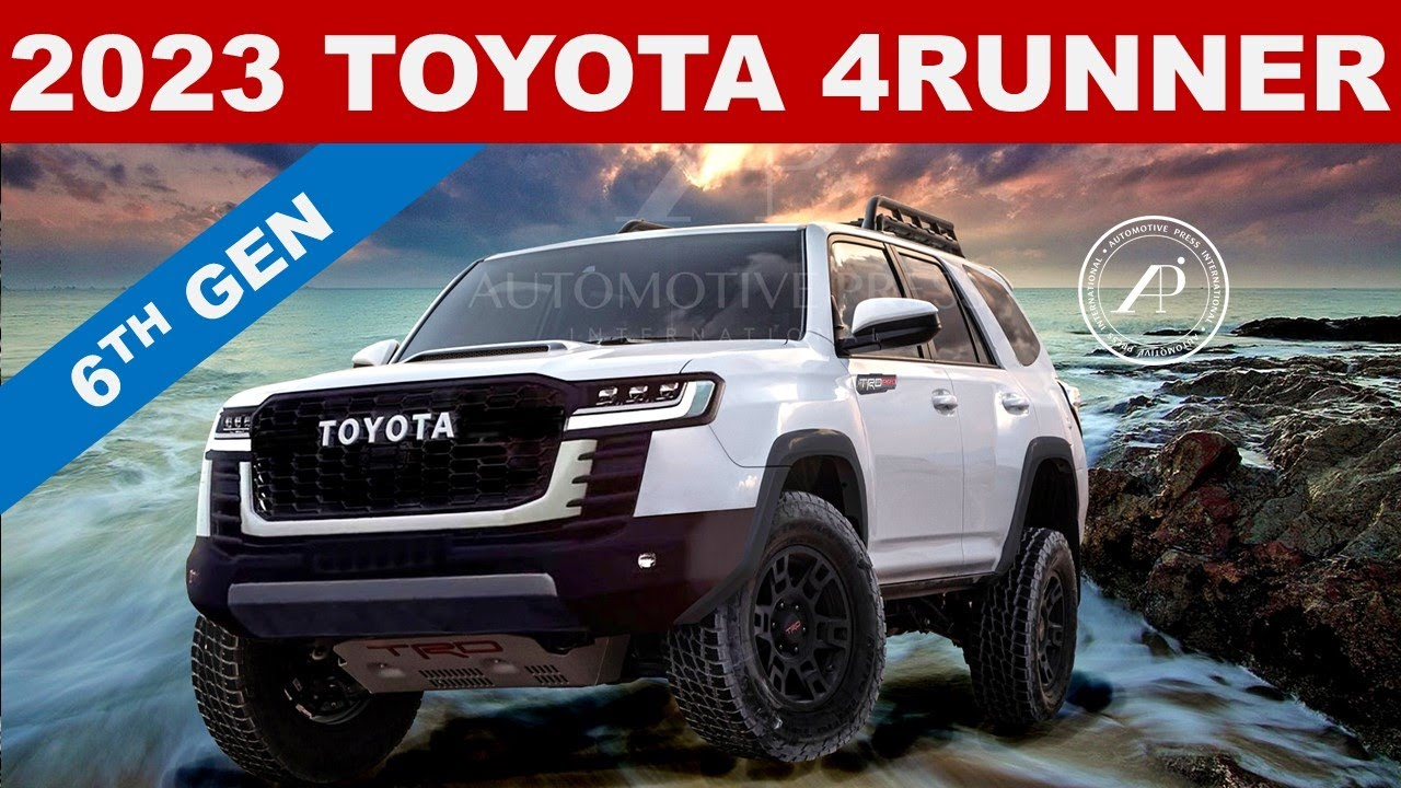 ENGINEER PREDICTS 2023 TOYOTA 4RUNNER - All New Renderings of the Next Generation 2023 4Runner