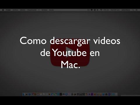 descargar videos de youtube mac gratis