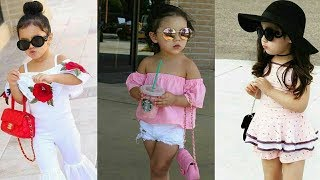 New collection of baby girl dresses,Kids Party wear Stylish,Top ,Dress,Frocks  2018 by Trendy India