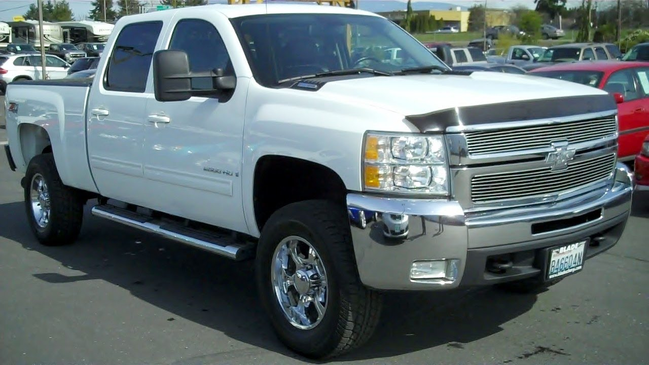 Video 1 2 2009 Chevrolet Silverado 2500hd Crew Cab Ltz