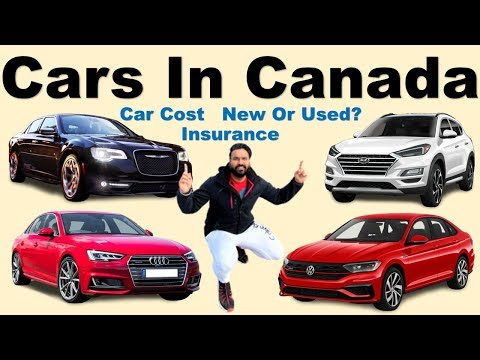 Types Of Cars In Canada | Car Buying Tips In Canada | Canada Couple