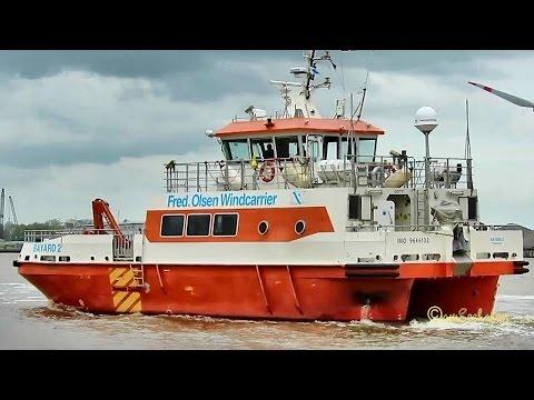 offshore support crew boat BAYARD 2 OZIY2 IMO 9646132 Emden