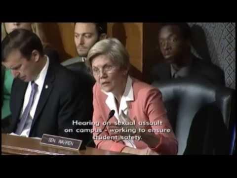 Senator Elizabeth Warren - Sexual Assault on Campus: Working to Ensure Student Safety