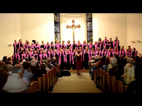 Elmbridge Ladies Choir sing Angel at 'Simply Divine'