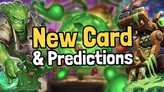 A New Card & Boomsday Blog Predictions - Hearthstone