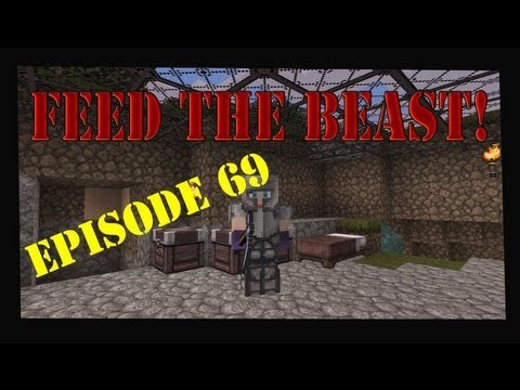 Minecraft 1.4.7 Feed The Beast Magic World Let's Play Episode 69