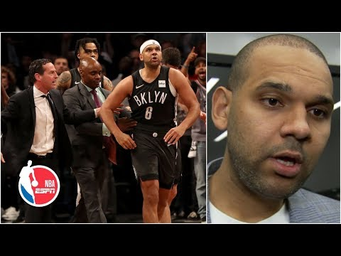 Jared Dudley on Joel Embiid: 'If anything, I should've got him worse' | 2019 NBA Playoffs