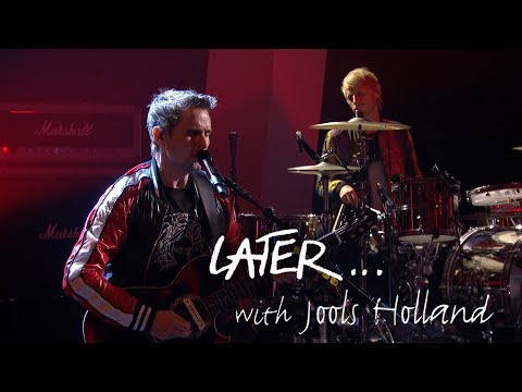 Muse return with Pressure on Later... with Jools Holland