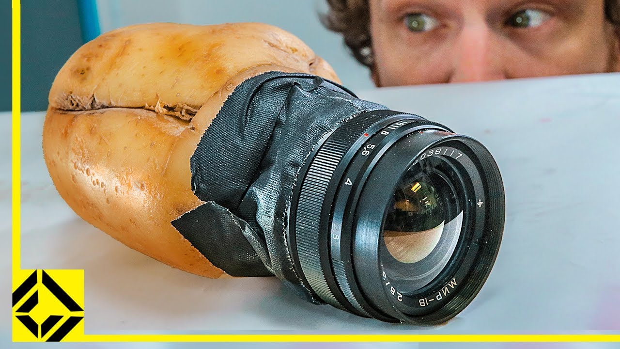how to make a potato camera