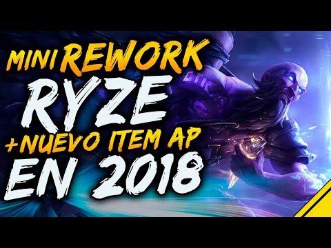 Mini REWORK RYZE y NUEVO ITEM AP principios 2018 - OFICIAL RIOT | Noticias League Of Legends LoL