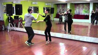Бачата урок № 6 с Румен и Милица в Salsa de Cuba