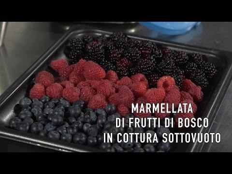 Marmellata di frutti di bosco in cottura sottovuoto