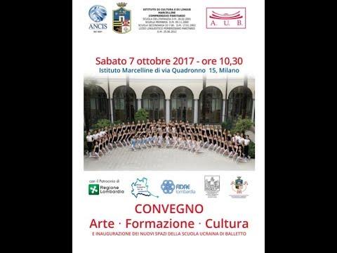 Inaugurazione a Milano nuovi locali Accademia Ucraina di Balletto