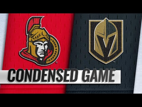 10/28/18 Condensed Game: Senators @ Golden Knights